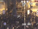 В Киеве попытались снести памятник Ленину (Видео)