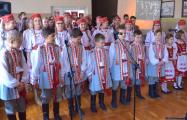 Як школьнiкi ў Бельску Падляшскім святкавалi Дзень Волi