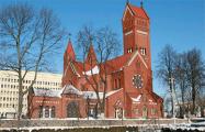 Когда пройдут рождественские службы в костелах в центре Минска
