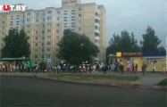 В цепь солидарности выстроились люди в агрогородке Гатово