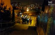 Минский квартал «Виктория» устроил марш памяти Романа Бондаренко