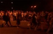 Сотни минчан скандируют «Позор!» фальсификаторам
