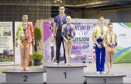 Белорусы взяли два золота на этапе Кубка мира по спортивной акробатике