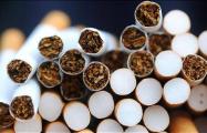 В России торгуют подозрительными сигаретами с текстами на белорусском языке