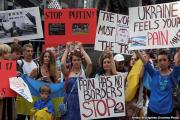 Белорусы в Нью-Йорке: Остановите путинский терроризм