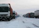 В очереди на «Каменном логе» - более тысячи грузовиков