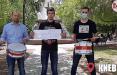 Акции в поддержку «барабанщика перемен» проходят не только в Беларуси