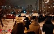 «Я выхожу»: Минчане провели марш в Красном Бору