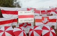 Партизаны Вилейки и Белоозерска вышли на акции протеста