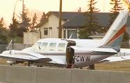 Видеофакт: В Канаде самолет со сломанным двигателем приземлился на загруженное шоссе