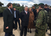 Министры обороны стран Балтии обсудили с главой Пентагона российско-белорусские учения «Запад»