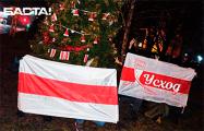 Белорусы продолжают поздравлять друг друга с Новым годом Зубра