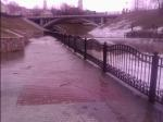 Потоп в центре Витебска