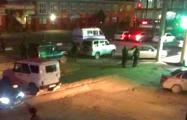 Опубликованы фото и видео с места взрыва в Назрани