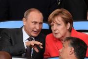 Путин и Меркель одобрили деятельность контактной группы по Украине