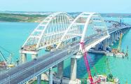 Гидрогеолог предрек разрушение Крымского моста после запуска по нему поездов