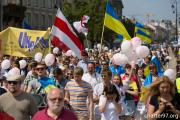 Фотофакт: Путина в клетке провезли по Варшаве