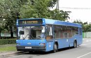 В Бобруйске сгорел рейсовый автобус МАЗ