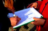 Мингорисполком сообщил, где нельзя собирать подписи за кандидатов в «депутаты»