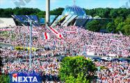 Антилукашенковский митинг в Минске собрал до полумиллиона человек