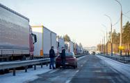 Больше тысячи дальнобойщиков будут ночевать на границе