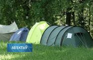 Протест в Боровлянах: жители организовали палаточный городок