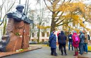 В Витебске отметили день рождения Владимира Короткевича