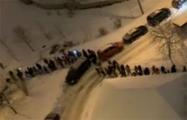 В Малиновке прошел массовый марш