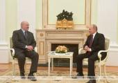 Лукашенко Путину: Я пошутил, что надоели друг другу
