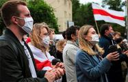 Минчанка на пикете: Уйди по-хорошему! Весь народ Беларуси будет праздновать