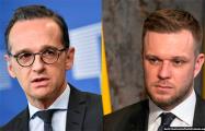Главы МИД Германии и Литвы обсудили поддержку белорусского гражданского общества