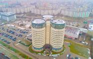 Фотофакт: В Минске нашли здание-спиннер