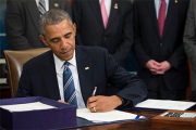 Обама на год продлил санкции в отношении Ирана