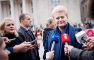 Даля Грибаускайте пошутила о «черном списке» Кремля