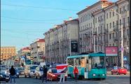 На минской улице Козлова протестующие вышли на проезжую часть