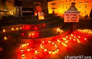 «Борись!»: В Варшаве прошла акция памяти Бориса Немцова