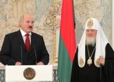 Лукашенко дал орден патриарху Кириллу