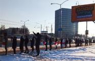 Как жители минских улиц выходили сегодня на протест