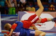 Белорус завоевал золотую медаль на ЧЕ по самбо