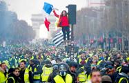 Зажгли на Елисейских: как прошла акция «желтых жилетов» в Париже