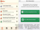 Опубликованы скриншоты MS Office для Android и iOS