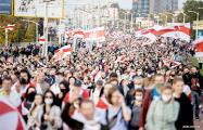 Участница Маршей: Мне 18 лет и хочу только одного - свободной жизни в новой Беларуси