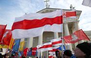 В Польше день перезахоронения Калиновского отметили иллюминацией на президентском дворце