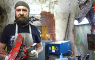 Как минчанин делает из металлолома произведения искусства