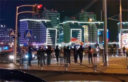 Минский Восток вышел на протест