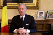 Король Бельгии пообещал ответить на теракты сплоченностью нации