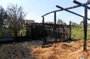 В сгоревшем  сарае в Минске обнаружен труп