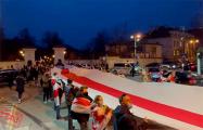 У посольства Беларуси в Вильнюсе прошла акция в поддержку студентов