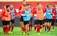 Сборная Люксембурга провела тренировку на «Борисов-Арене»