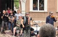 Борис Гребенщиков дал бесплатный уличный концерт в Херсоне